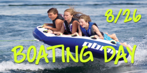 LCC Student Ministry Boating Day