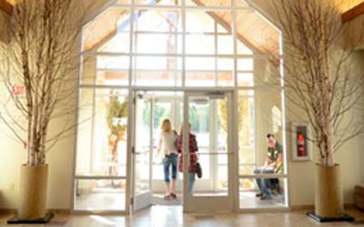 LCC entrance
