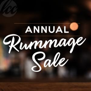 LCC Annual Rummage Sale