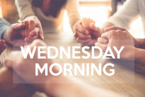 Wednesday Prayer Group