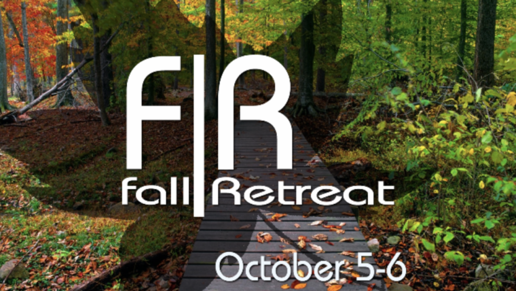 Student Ministry fall retreat