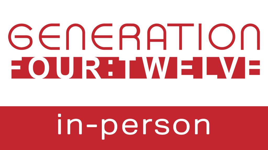 Generation 412 in-person