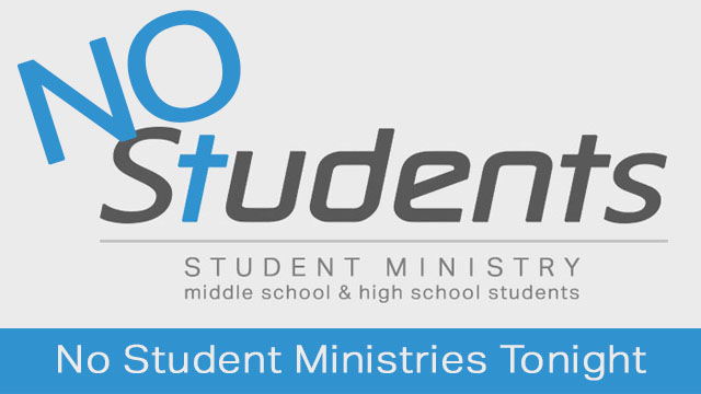 No Student Ministries